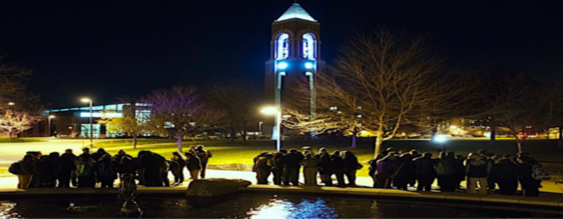 Ball State's Prayer Vigil
